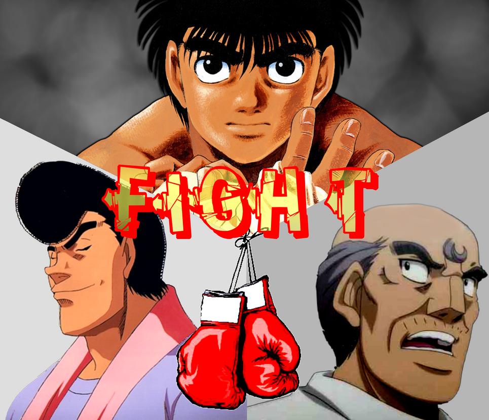Hajime No Ippo Mangakakalot: Hajime No Ippo FIGHT By Meykame On DeviantArt