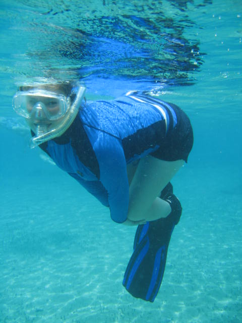 Me Snorkling 2 by Cookie96
