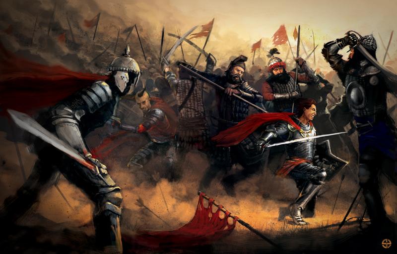 battle of Warna by piotrszot