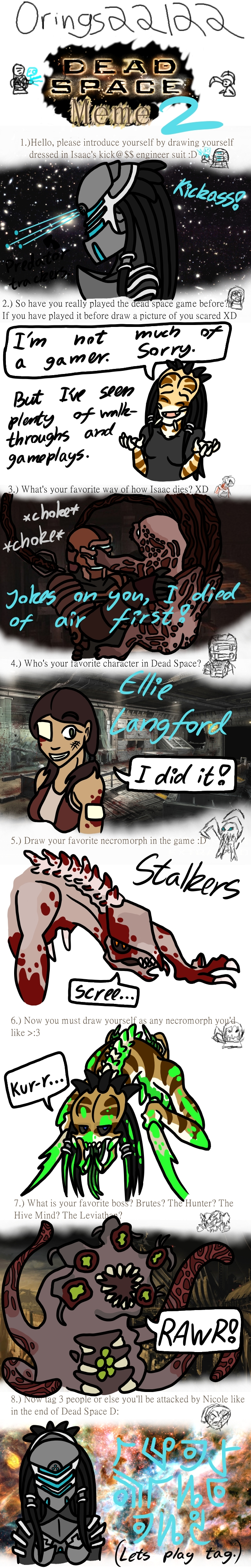 Dead Space Meme by XenoPredDragon