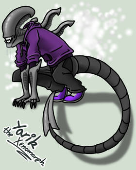 Xenomorph and Predator by GolfingQueen on DeviantArt
