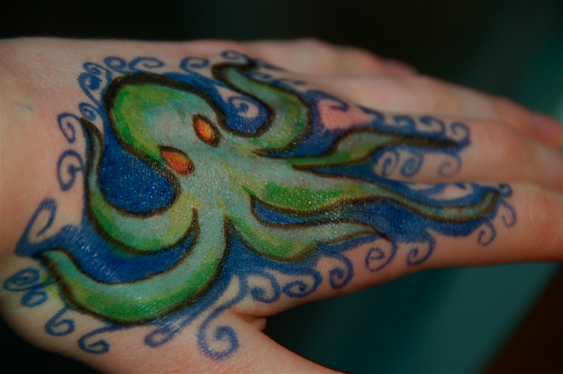Hand Octopus
