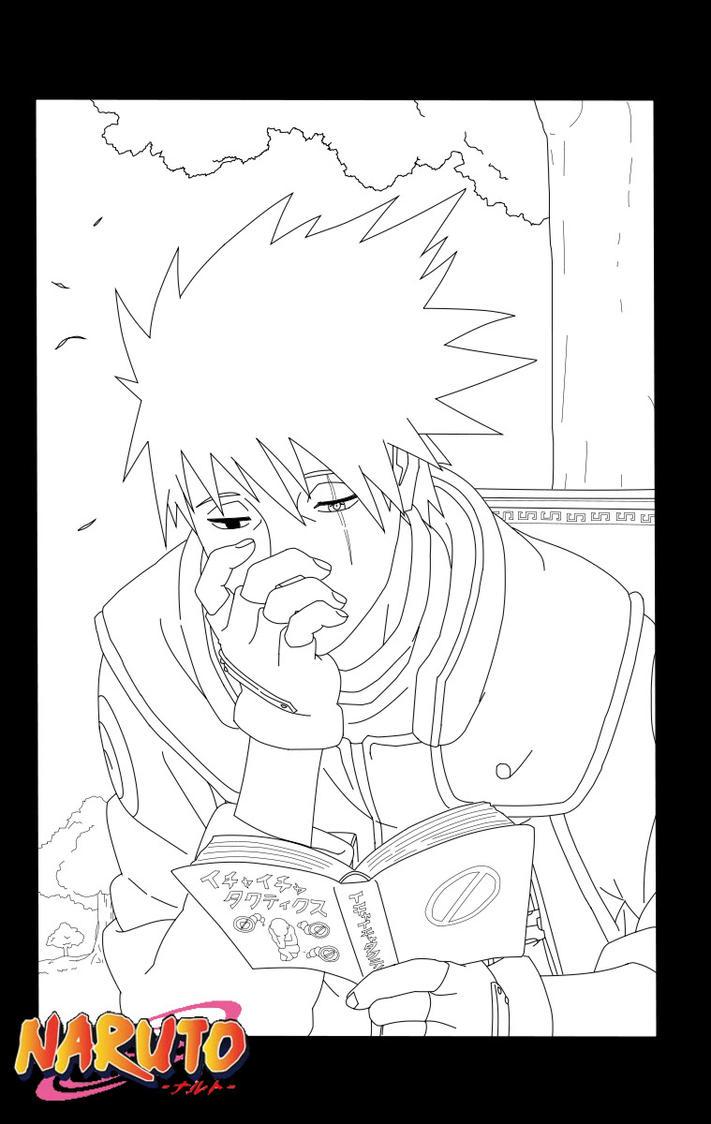 Naruto Shippuden Lineart : Lineart kakashi naruto shippuden by sakuritha on deviantart