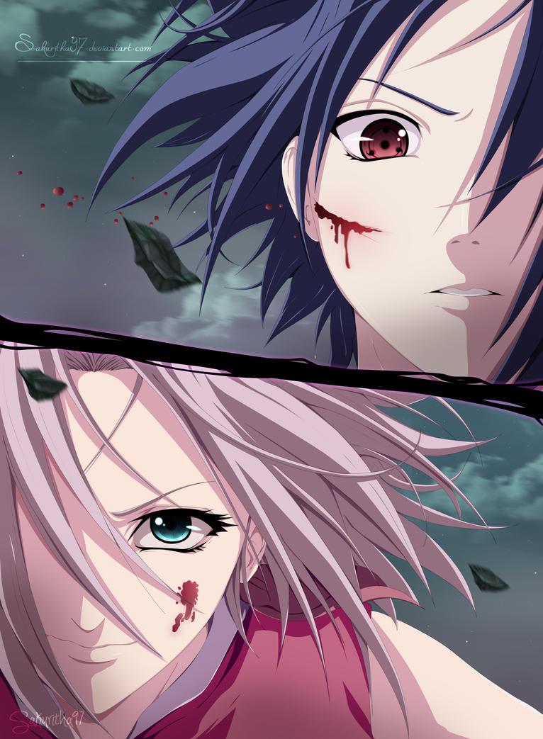sasuke protects sakura wallpaper - photo #32