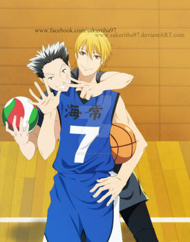 Kise and Bokuto CROSSOVER