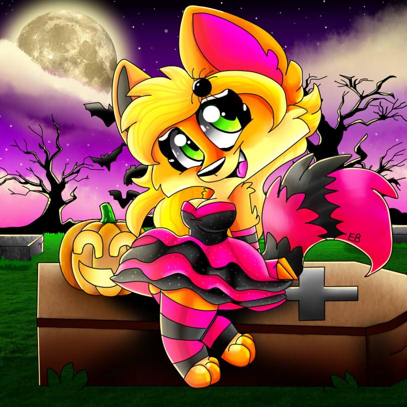 EB Halloween  by EmilyBandicoot1234
