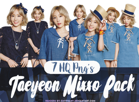 [PNG PACK] Taeyeon Mixxo Pngs