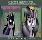 Don't Regret Improvement meme