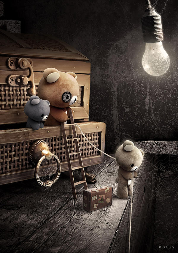 the Attic Bears by salis2006