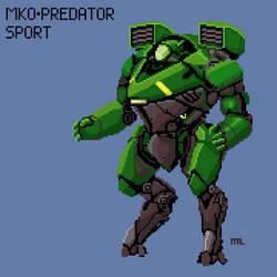 Murakumo Predator Sport by 1074Arius