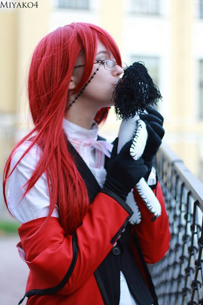 grell sutcliff kisses sebastian by darkinfinity92 on