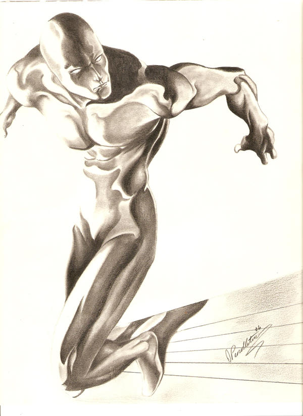 Silver Surfer by OPendleton