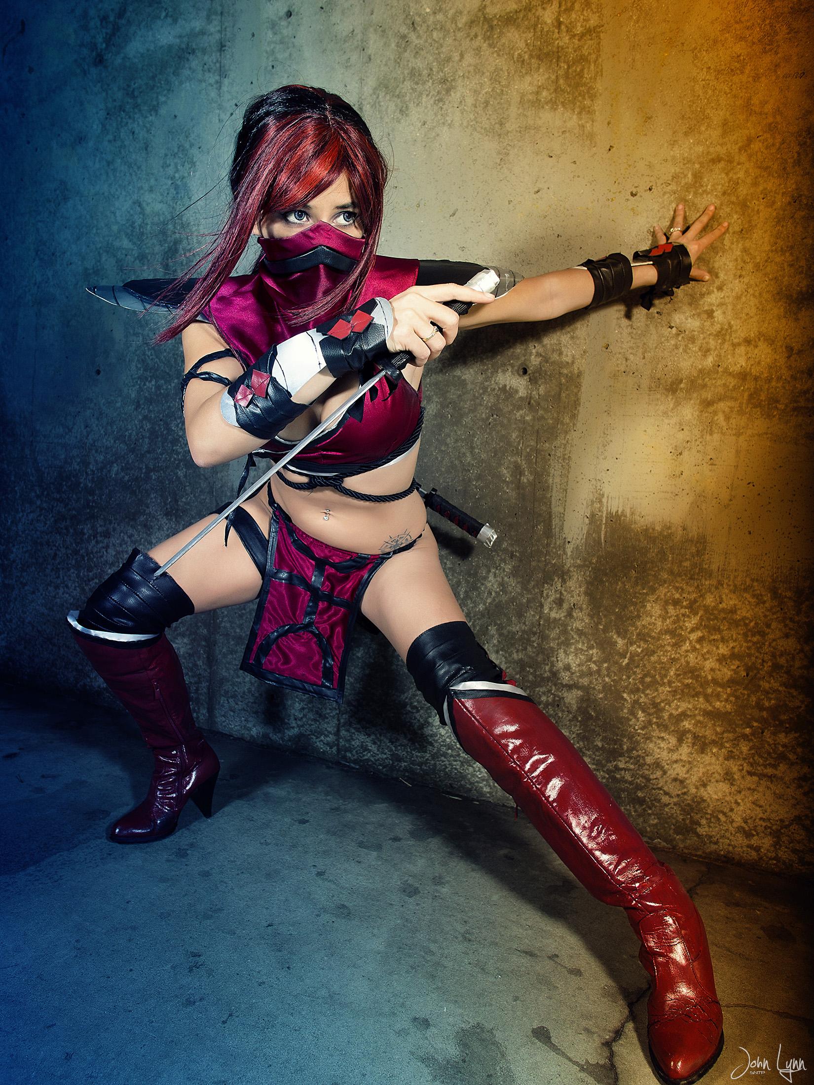 Skarlet from Mortal Kombat by SNTP