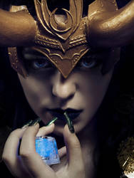 Lady Loki: Tesseract by SNTP