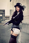 Steampunk Zatanna Cosplay by Sphingosine 2
