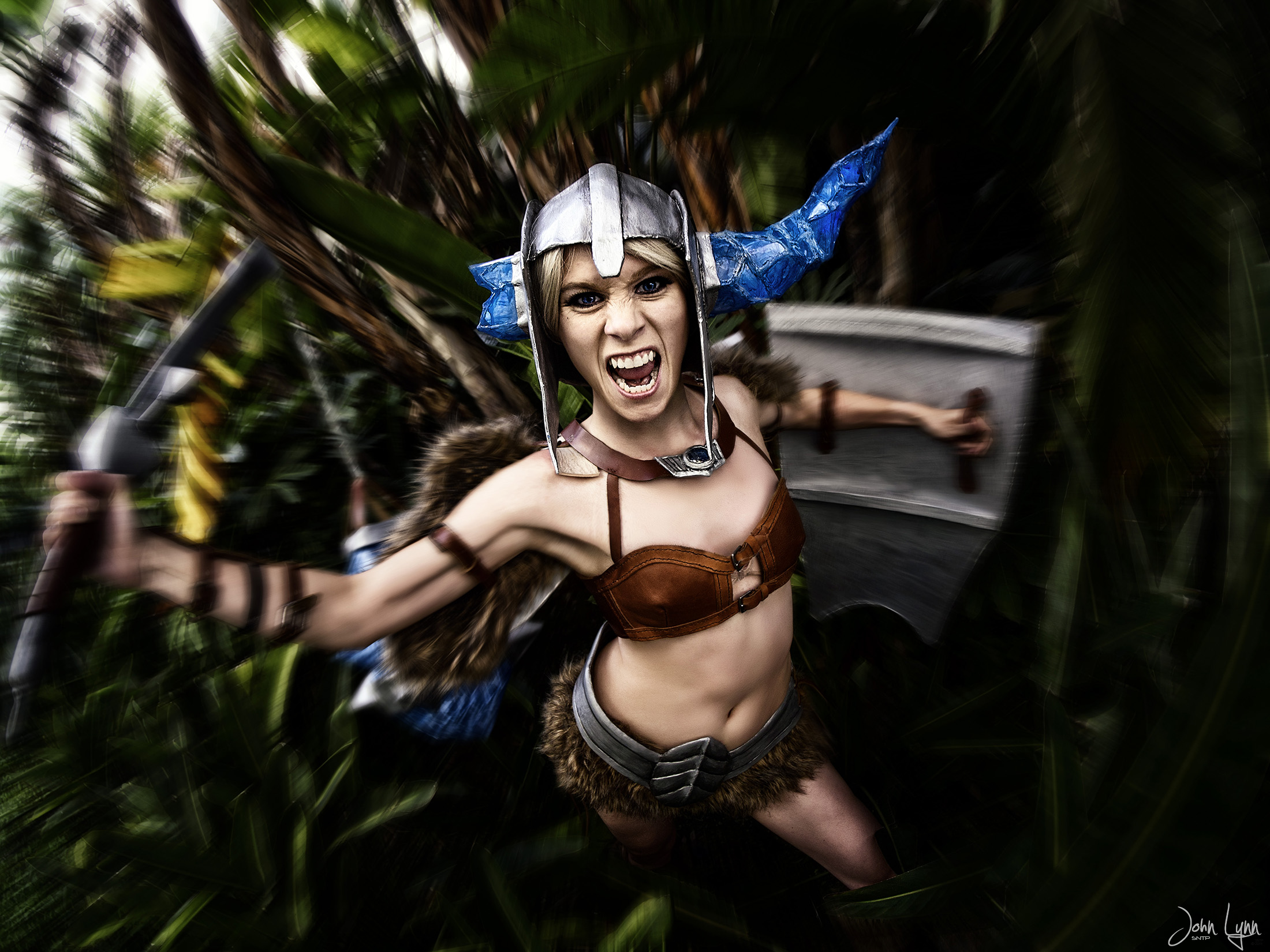 Sejuani Portrait: Sejuani Ganks From The Jungle! By SNTP On DeviantArt