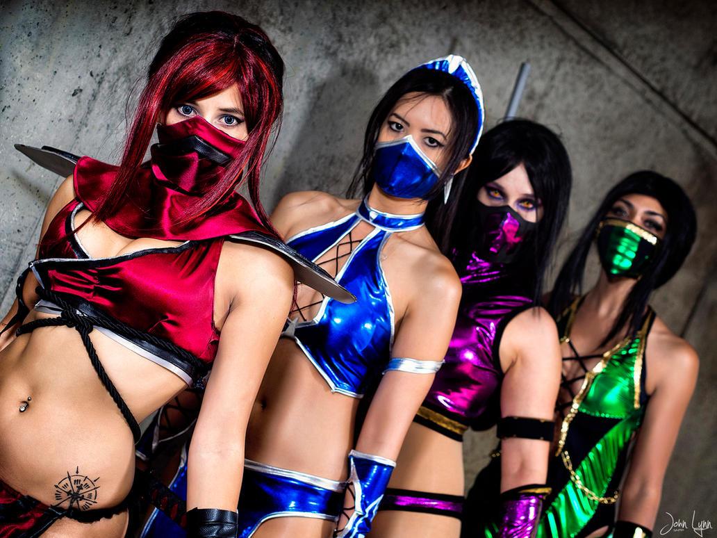 Ninja girls porn pics erotica vids