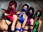 The Mortal Kombat Girls