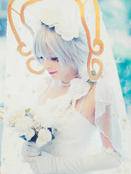 .hack//G.U. Shino Nanao Wedding Cosplay by SNTP