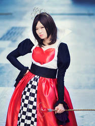 Red Queen Haruhi Cosplay