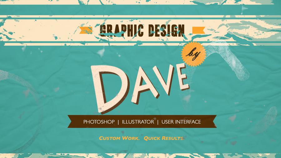 vintage style personalized wallpaper by davepresco on