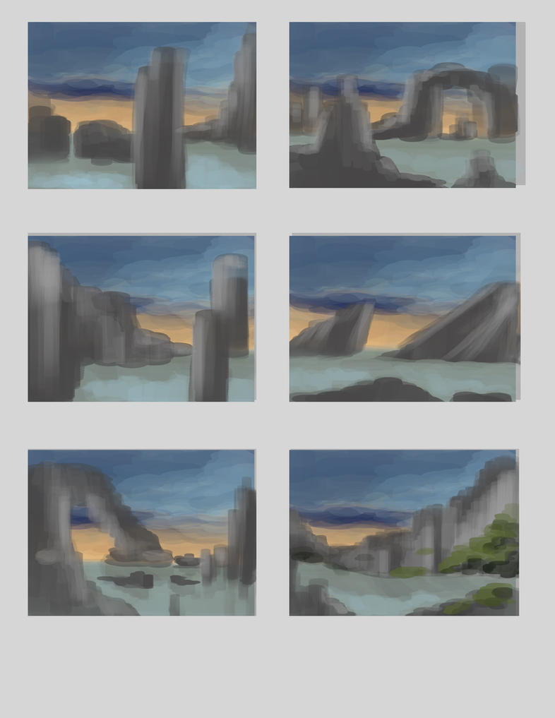 Landscape thumbnails by Sensei-Tenshi