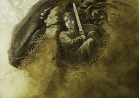 Siegfried - Study I by alarie-tano