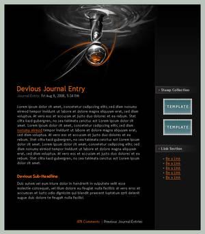 Journal CSS - Lightbulb