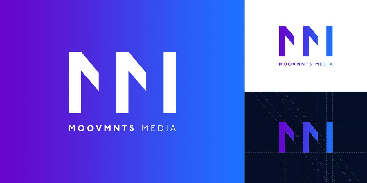 MOOVMNTS Media - Logo Design