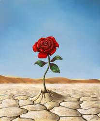 Desert Rose by antonvandort