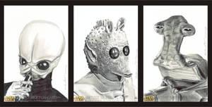 Star Wars Sketch Cards Cantina