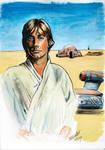 Luke on Tattooine - color