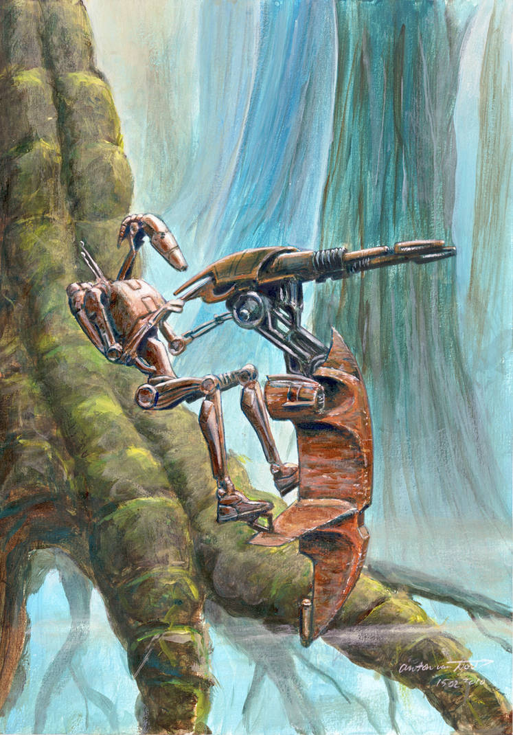 Star Wars Battle Droid