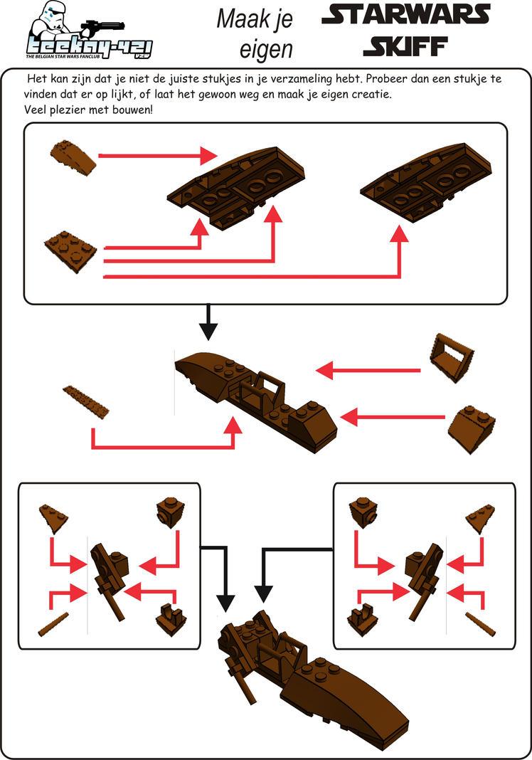 Lego Star Wars Skiff Build Instructions By Antonvandort On Deviantart