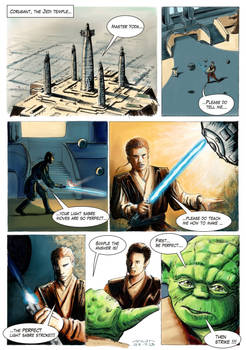 Star Wars Comic - be perfect colored