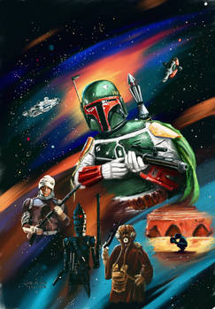 Bounty Hunters back cover
