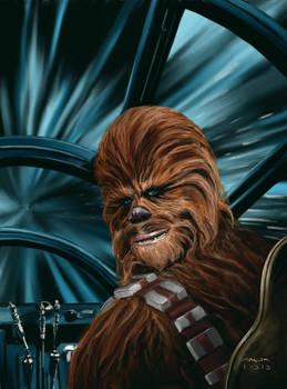 Chewie in Falcon - final