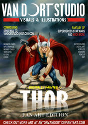 THOR magazine cover flyer