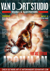 Iron Man magazine cover