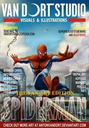 Spiderman magazine Cover