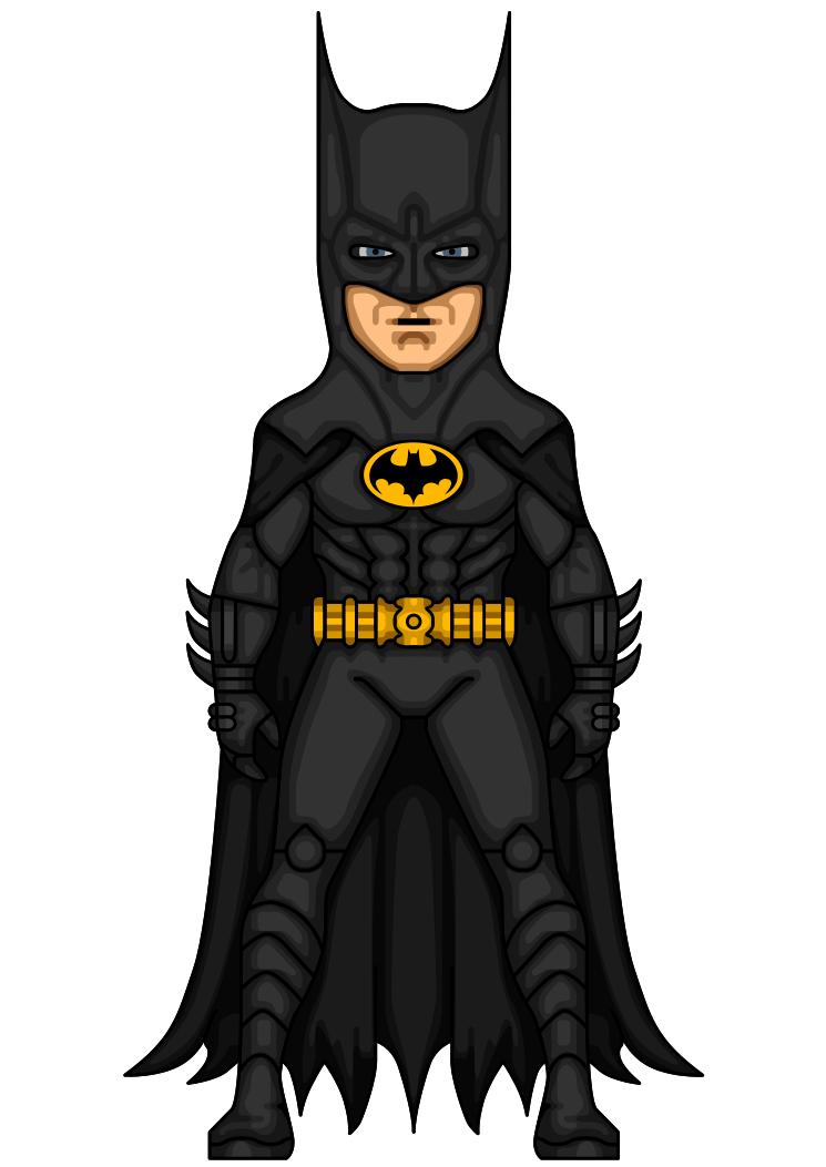 Batman (Keaton) 01 by Wiggykiller