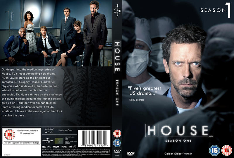 House MD DVD Cover Design by geraintthomas on DeviantArt