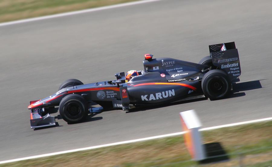 Formula One, Hispania Racing 2 by geraintthomas
