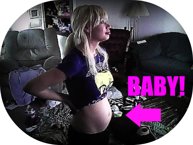 15 weeks pregnant by angel-gabriel989
