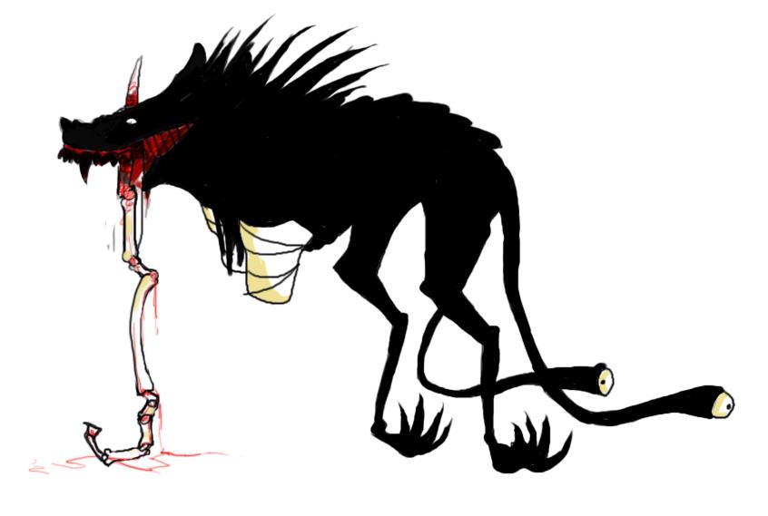 Demon That Looks Like A Dog