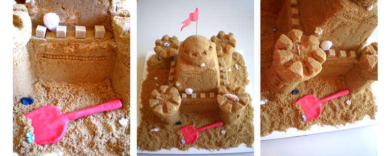 Sand Art Cake Mix : cake {sand castle} by here-kitty--kitty on DeviantArt