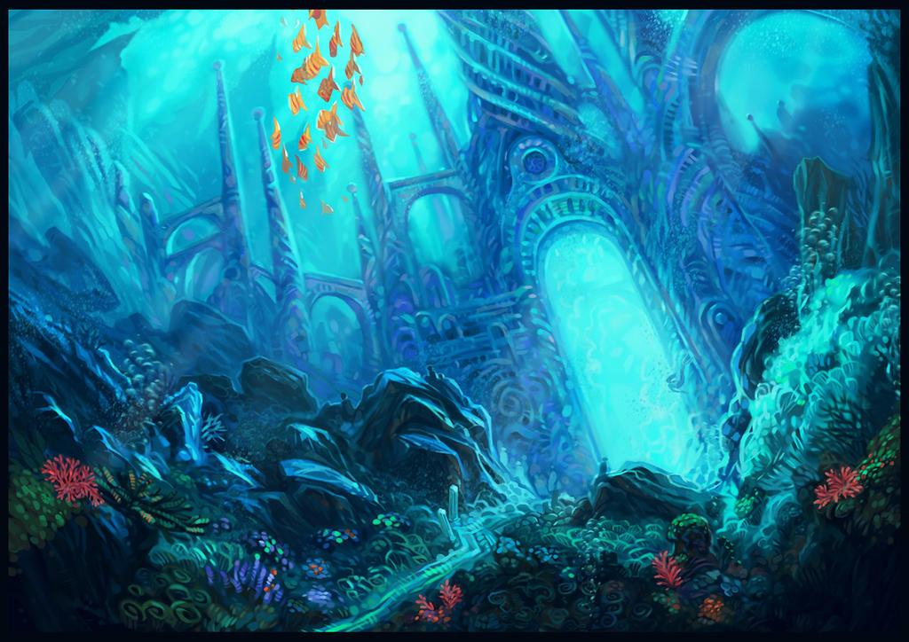 Underwater kingdom by kotlentyi on deviantART