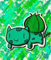 KAWAIIDEX: 001 - Bulbasaur by Draareg