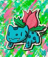 KAWAIIDEX: 002 - Ivysaur by Draareg