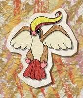 KAWAIIDEX: 018 - Pidgeot by Draareg